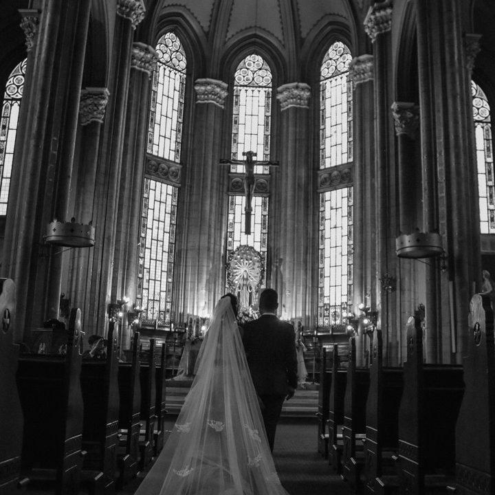 kilise düğün fotoğrafı
