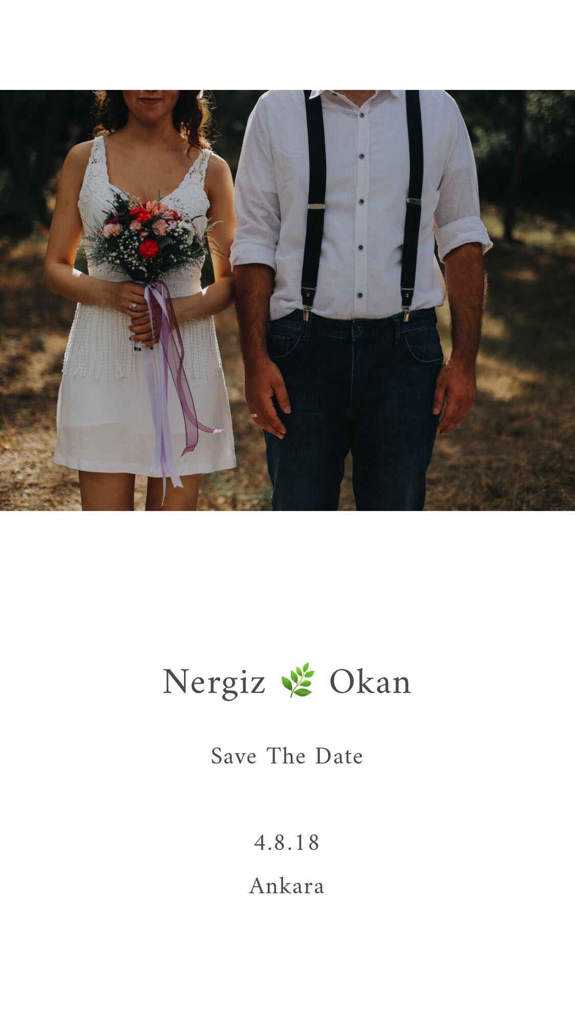 Save The Date l Cemal Can Ateş l Düğün Fotoğrafçısı Ankara